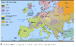 The religious divisions of Europe