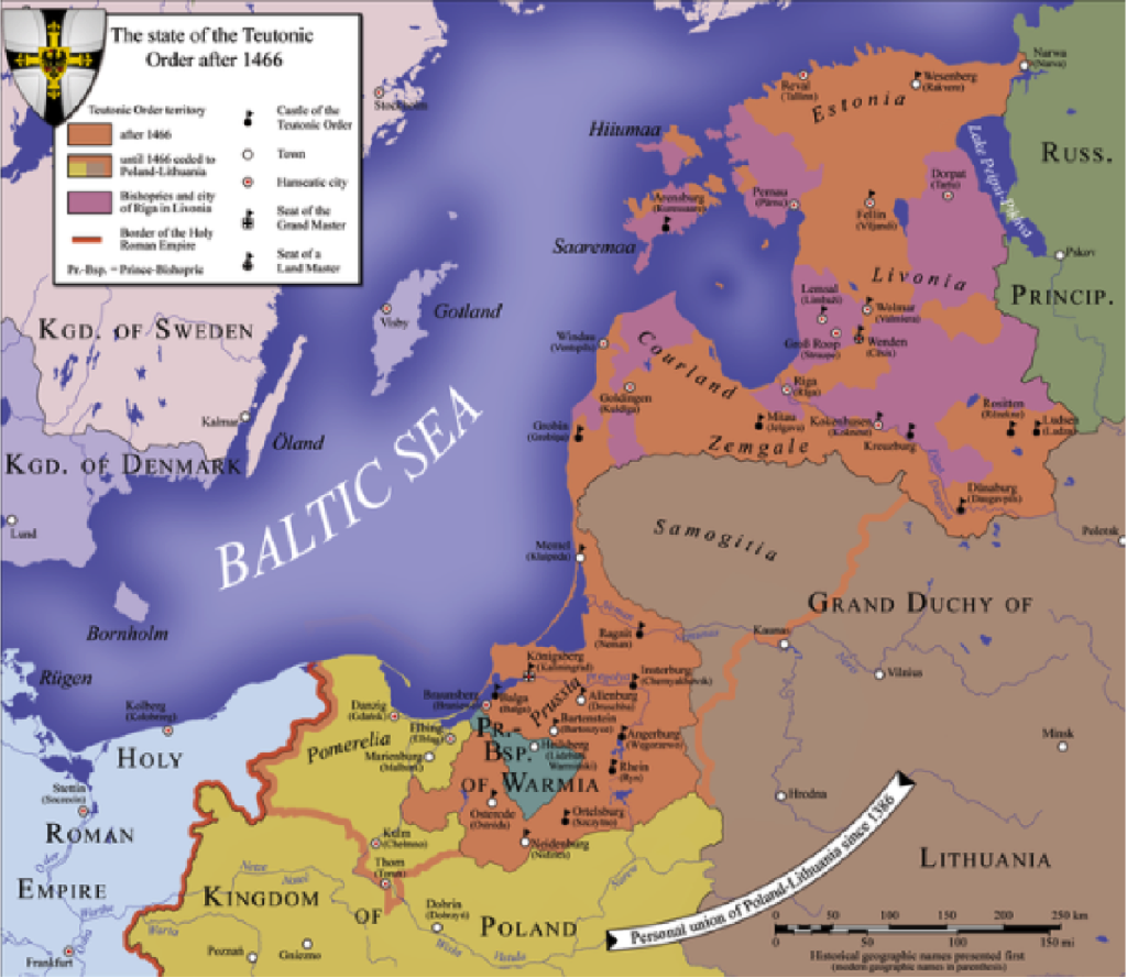 The Teutonic Order after 1466