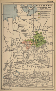 Thuringia and Saxony after the Schmalkaldic War